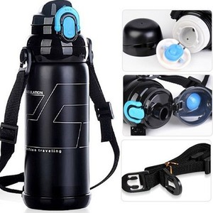 800ml stainless steel sport vacuum cup vacuum water bottle thermos flask
