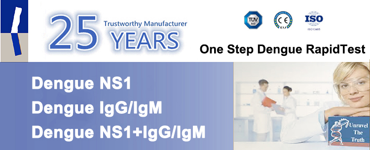 Dengue ns1 rapid test kit/ medical diagnostic dengue ns1 test