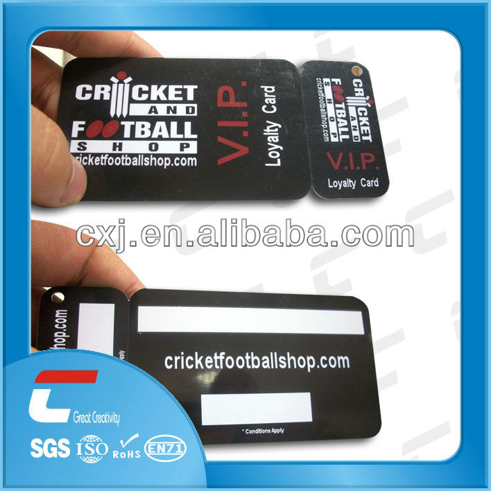 fashionable PVC gym membership card