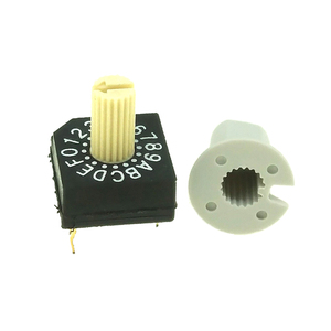 Real Code 4+1 Pins Heater Rotary Dip Switch 16 Position