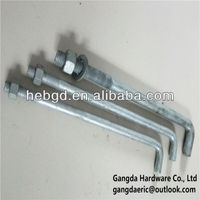 HDG Anchor Bolt for construction hardware