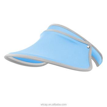 Blue Wide Bill Sun Visor Hat Sun Visor Cap Cheap Plastic Visors - Buy Cheap Plastic  Visors 8e360cb0d30