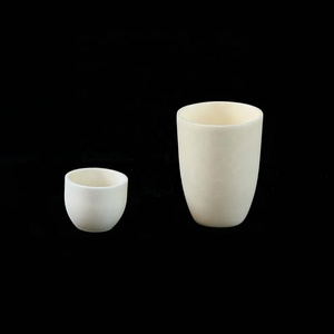 High temperature tga industrial analysis small alumina ceramic crucibles for melting