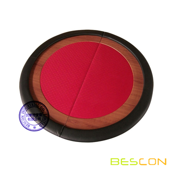 Premium Compact Round Folding Poker Table Top