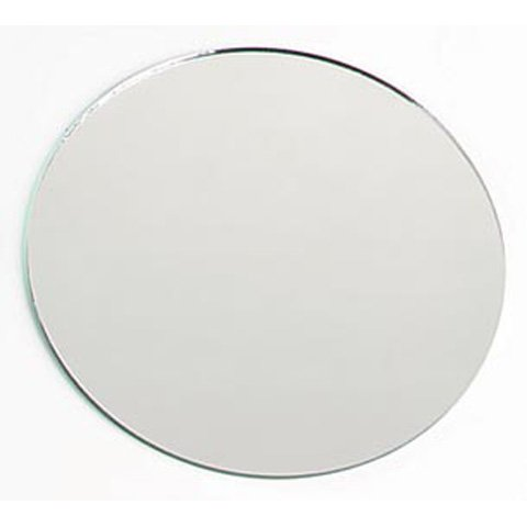 8 Inch Glass Craft Round Mirrors 12 Pieces For Centerpieces Slightly Undersized