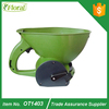 1.5L plastic hand seeder salt fertilizer spreader