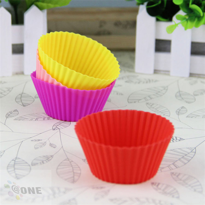 Customized Size Silicone Baking Cup Molds Cake