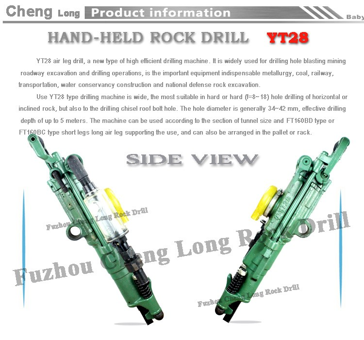 Yt28a Pneumatic Tool Mining Rock Drill /hilti Jackhammer From ...