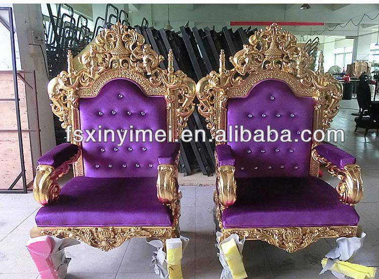 Wing Chairs On Sale King Queen Antique Throne Chairs Xym-h60 - Buy Antique ...