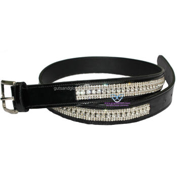 Bling Patent Leather Belt