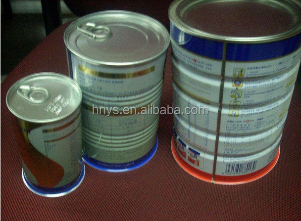 Wholesale Good Quality Paint Round Tin Can Sealer Milk