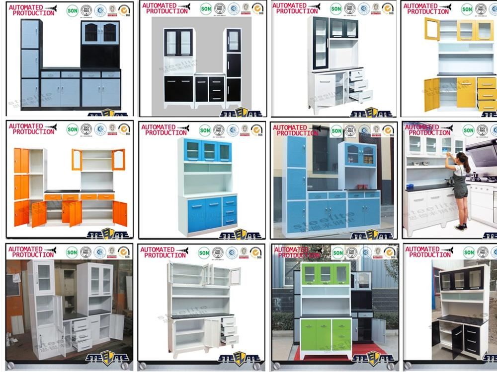Luoyang steelite high quality modular kitchen designing for Aluminum kitchen cabinets in the philippines