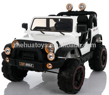 Newest Jeep 12v Battery Powered 4x4 Kids Ride On Car 2 Seat Powerful
