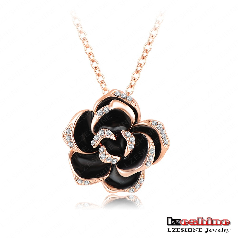 2017 sexy mysterious black rose pendant necklace designer women pave 2017 sexy mysterious black rose pendant necklace designer women pave austrian crystal jewelry wholesale nl0003 buy rose pendant necklacedesigner jewelry aloadofball