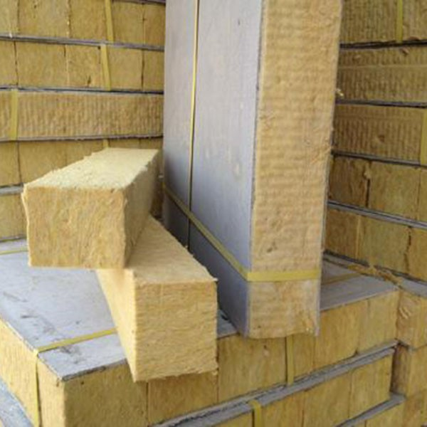 Sound proofing heat insulation rock wool board felt pipe for 2 mineral wool insulation