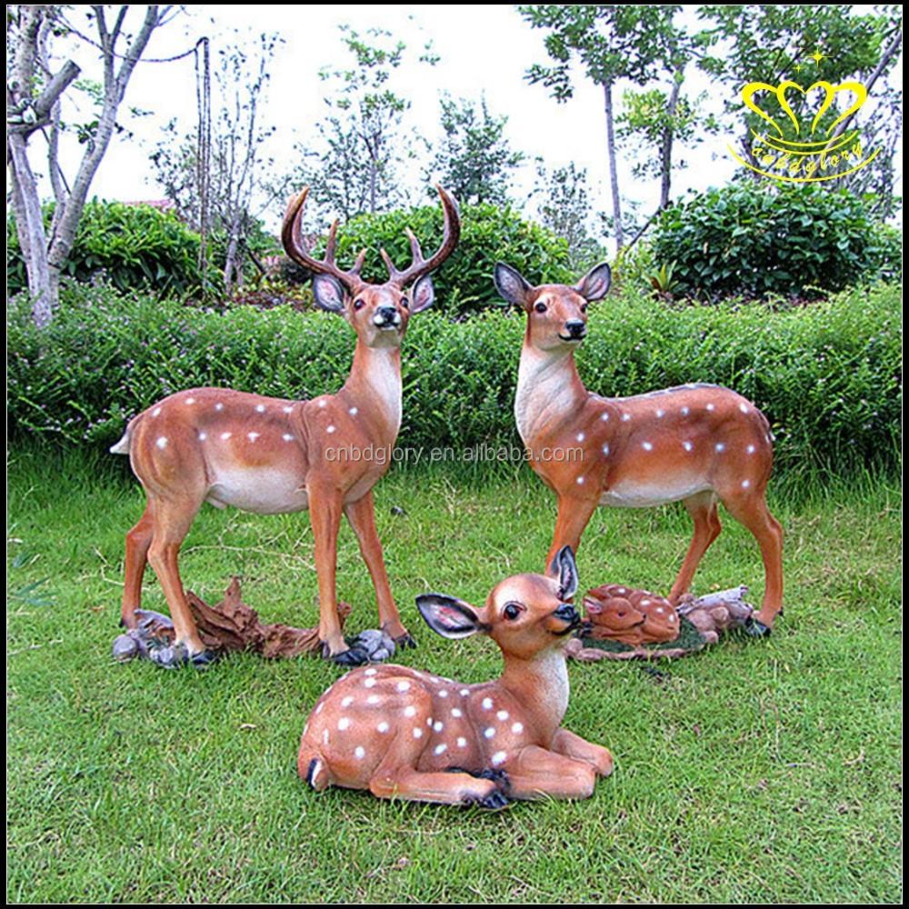 Garden Decor Deer: Bronzen Herten Tuin Deco Sculptuur/tuin Decor/levensgrote