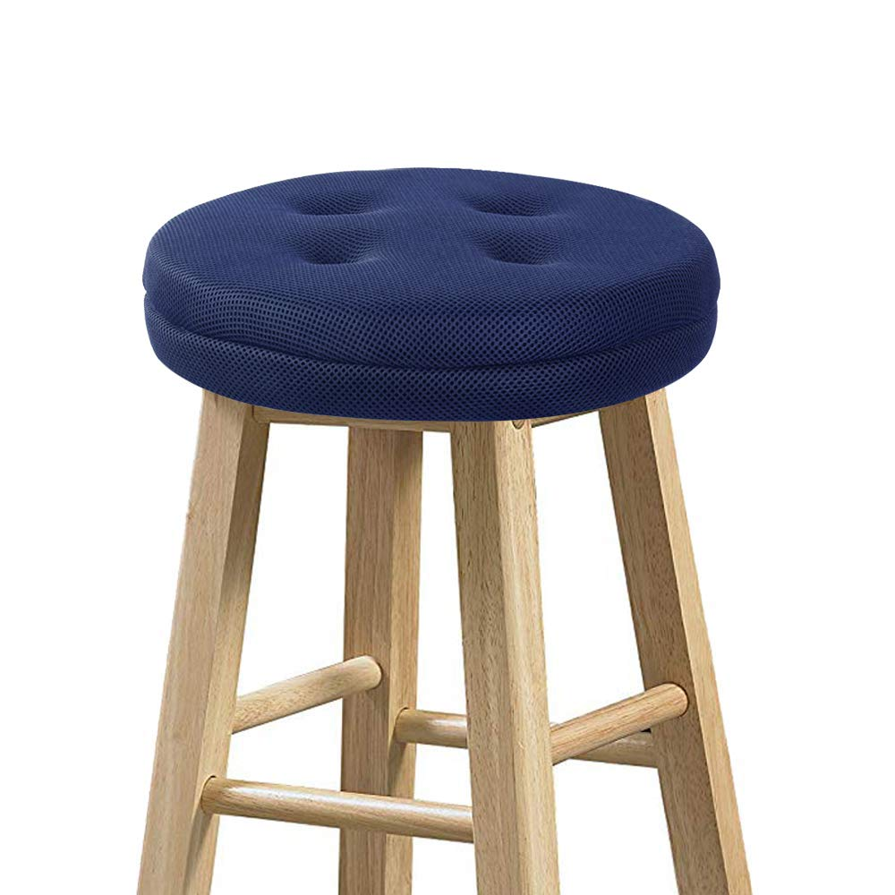 Super Breathable & Machine Washable Fast Dry Cool Bar Stool Cushion
