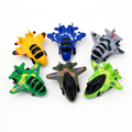 6Pcs Dinky Toys Model Pull Back Flying Airplane Plane DIY Model Educational Toys For Children Christmas