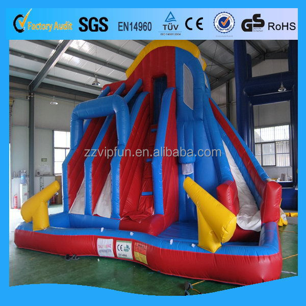Design hot selling fantasy inflatable slide games