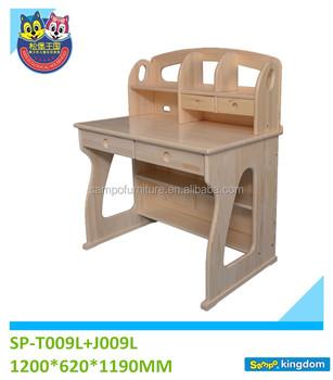 Schule Kinder Schreibtisch Und Stuhl, Holz Schreibtisch Für Kinder