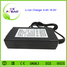 PSE certified japan plug universal 16.8v 4.4a li-ion battery charger