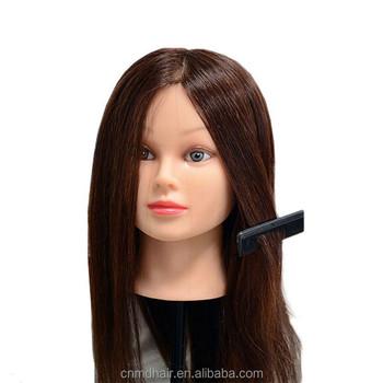Mannequin Manikin 100 High Temperature Hair Fiber Training Female Head With Free
