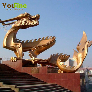 Top Quality Stainless Steel Golden Dragon