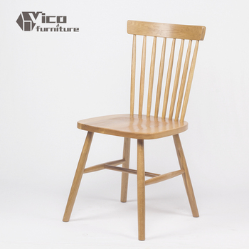 Best Price Simple Antique Oak Solid Wooden Walnut Restaurant Rustic Dining Chair