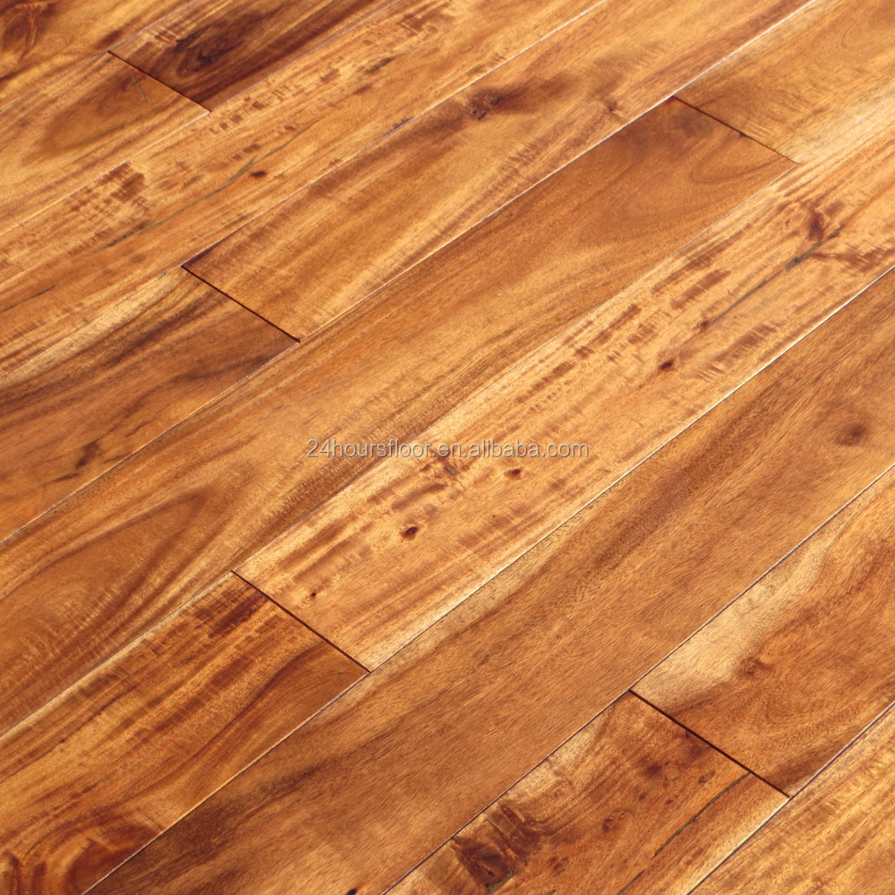 Unfinished hardwood flooring vs prefinished home design for Pre finished wood flooring