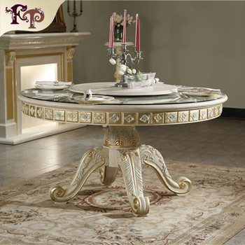 0ce32c299ab9e The president suit furniture-royal classic solid wood hand carved dining  room set-italian