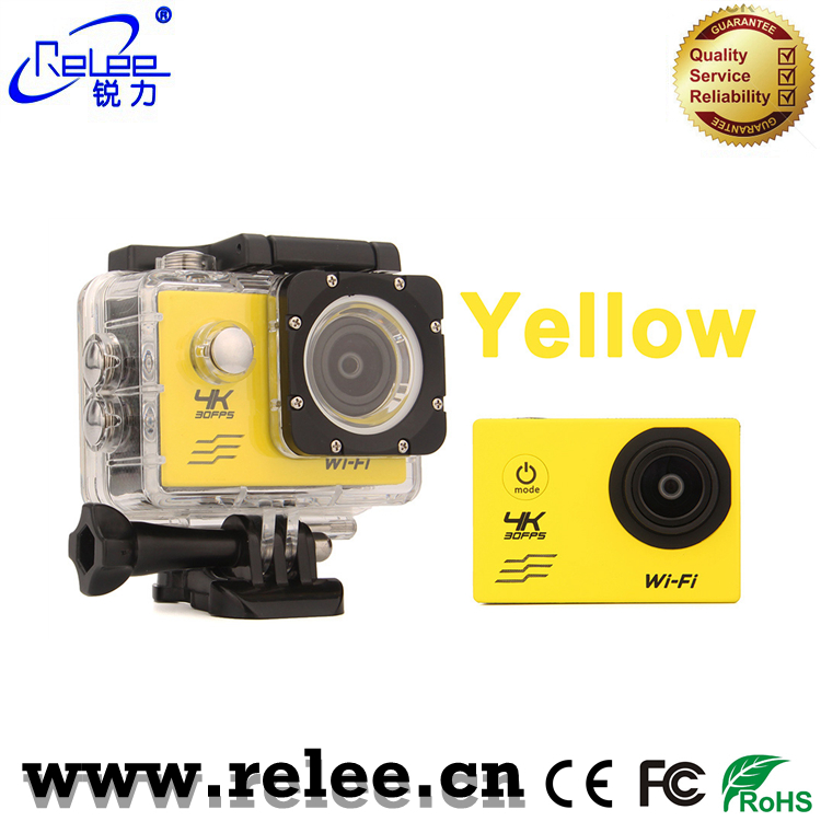 30 meters waterproof 4K WiFi action camera sport Camcorder 1080p
