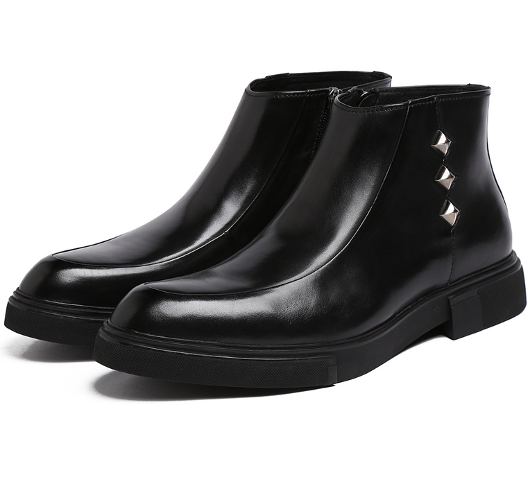black motorcycle boots womens | Fashion Images