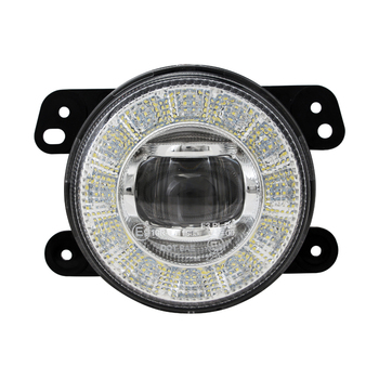 Emark R19 R10 R87 4 inch round 17w led fog light