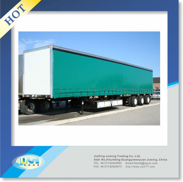 waterproof durable printed pvc truck cover container curtain