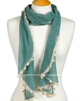 Viscose Lace Scarf