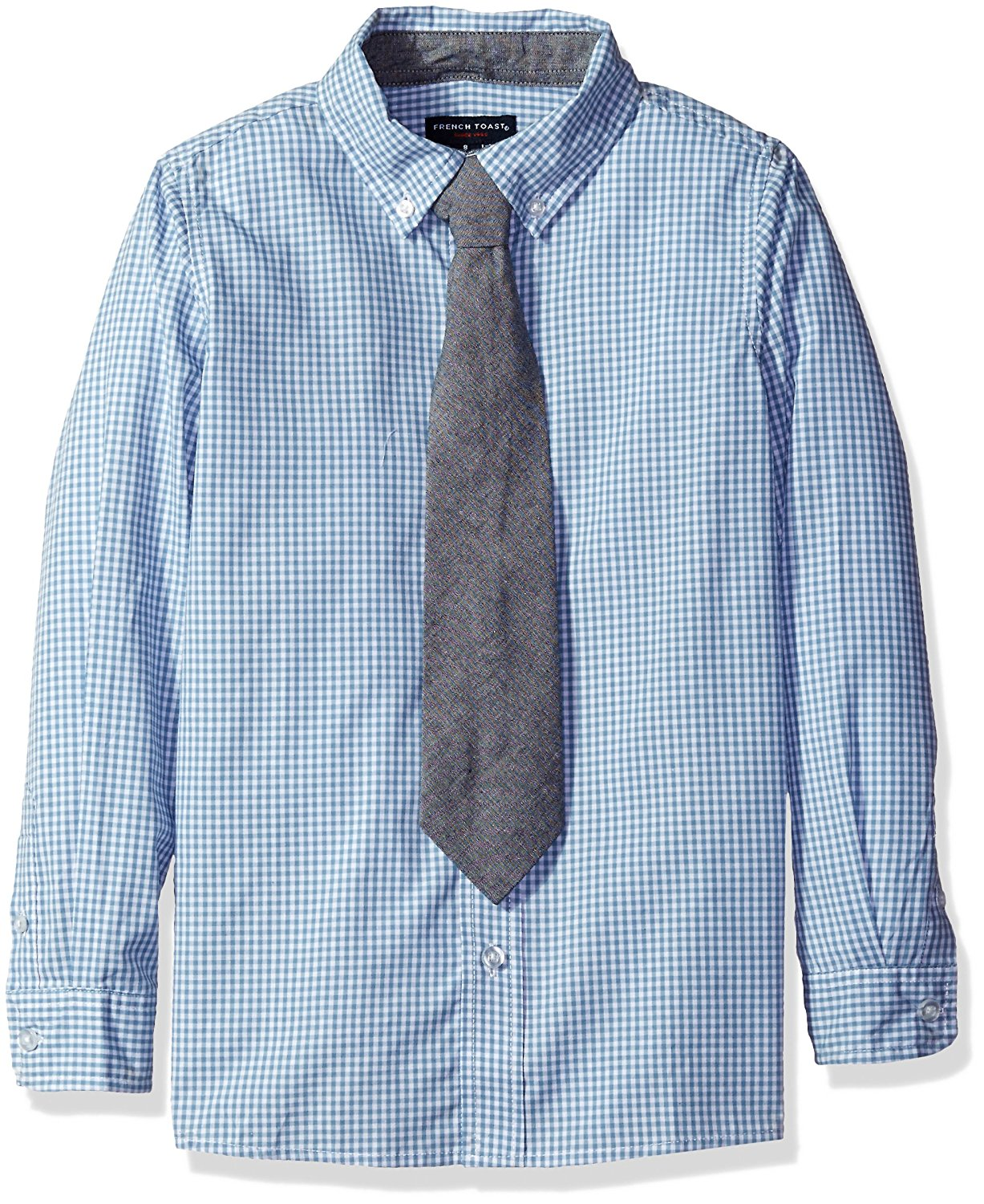 7abe840b2fb Get Quotations · French Toast Boys  Little Long Sleeve Dress Shirt with Tie