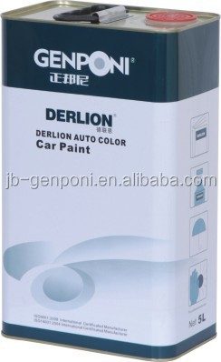 Car paint Hardeners 2K topcoat and clear coat with good yellowing-resistant properties