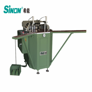 angular corner frame crimping machine for aluminum windows manufacturing