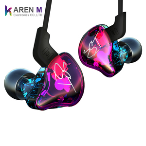 Hot Sale Original KZ Headphones 3.5mm Hybrid Technology Wired/Wireless Frequency Division HD Microphone ZST Pro Earphones in Ear