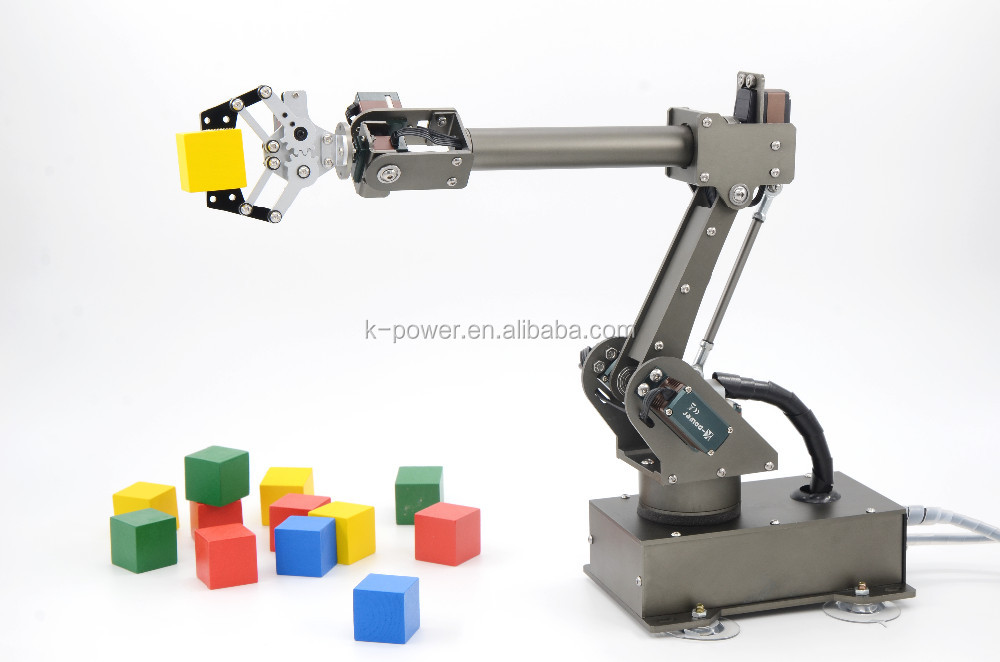 Arduino robot arm ni regardsdefemmes