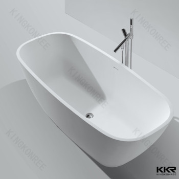 European Design Stone Freestanding Standard Bathtub Sizes
