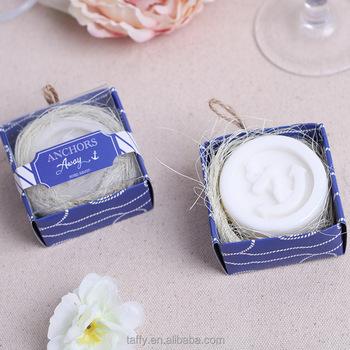 2017 new beach theme nautical bridal shower favor door gift guest souvenirs bomboniere wedding favor anchor