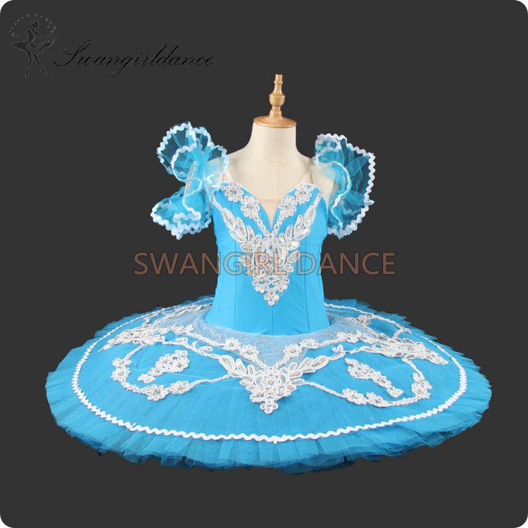 View larger image. girls dark blue bird performance stage show ballet tutu costumes ... : blue ballerina costume  - Germanpascual.Com