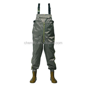 CHN-81250 Waterproof Boot-Foot Chest Waders Fishing Hunting Boot Waders Fishing Boots