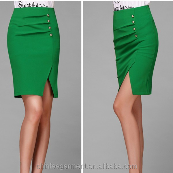 New Women Fashion Office Skirt Style Summer Skirts Design Product On Alibaba