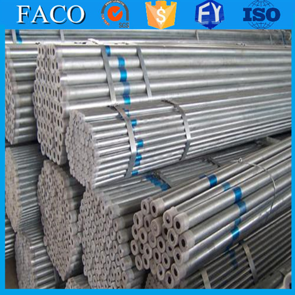 steel structure building materials ! erw round galvanized pipe best price china pre-galvanized pipeline