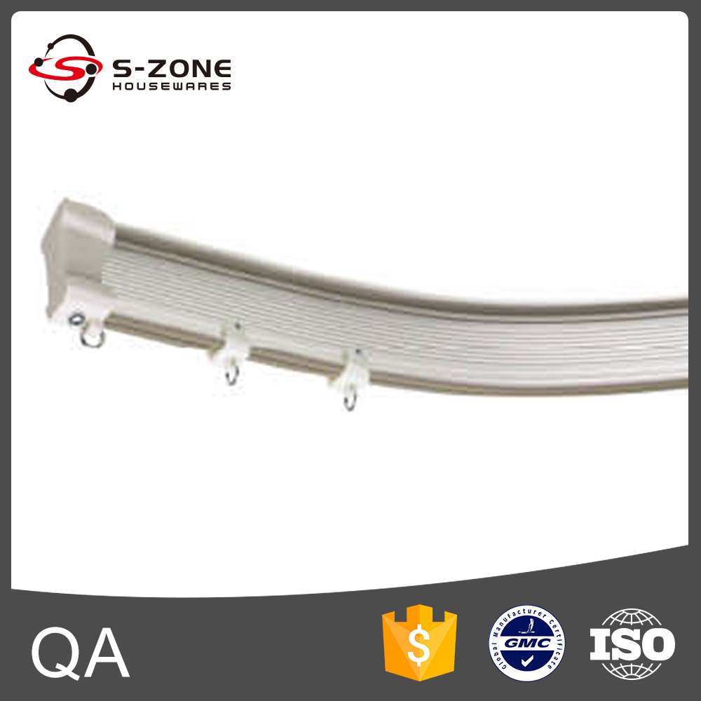 Curtain accessories plastic wholesales curtain pvc track