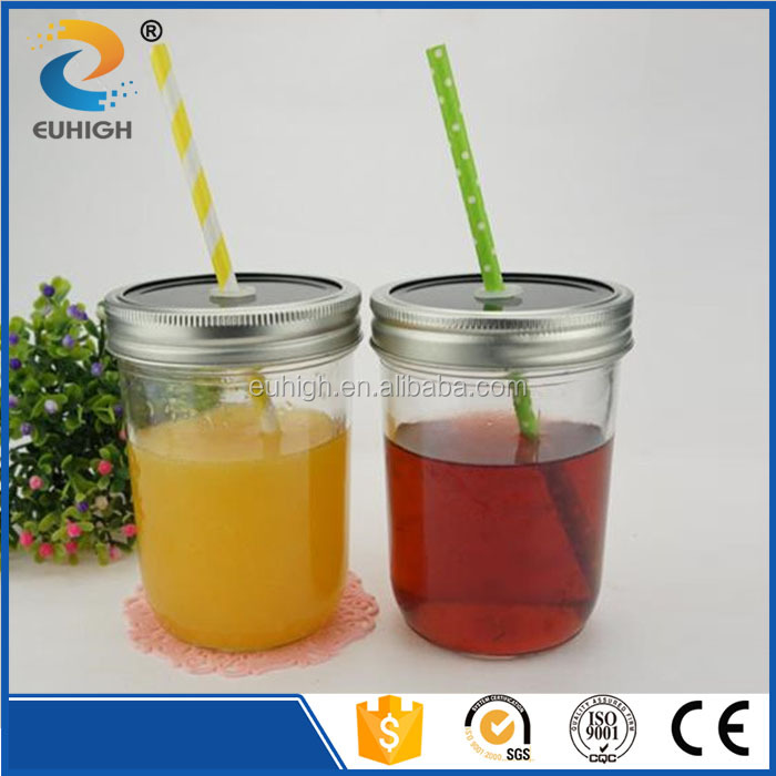 200ml glass mason jar with large mouth for caviar package