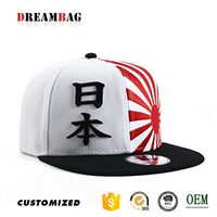 GZ unique OEM country flag style snapback japanese hat