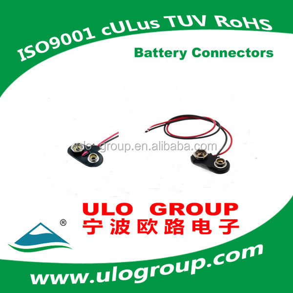 Best Price!! 9V Battery Connector with 120mm wire Manufacturer & Supplier - ULO Group